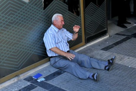 Greece-Pensioner