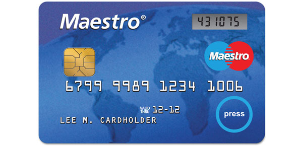 can maestro be used as mastercard
