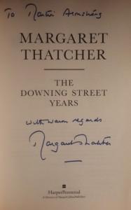 Thatcher-Autograph