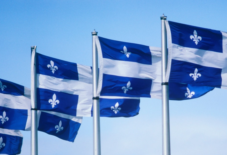 The QUEBEC-FLAG