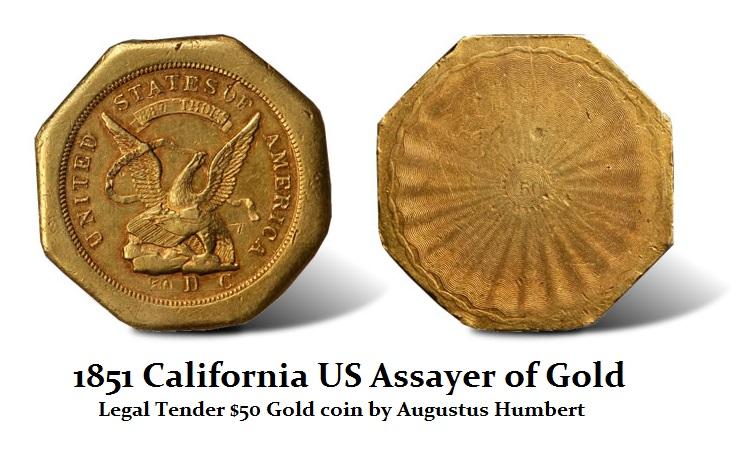 1851-Augustus-Humbert-50-Gold