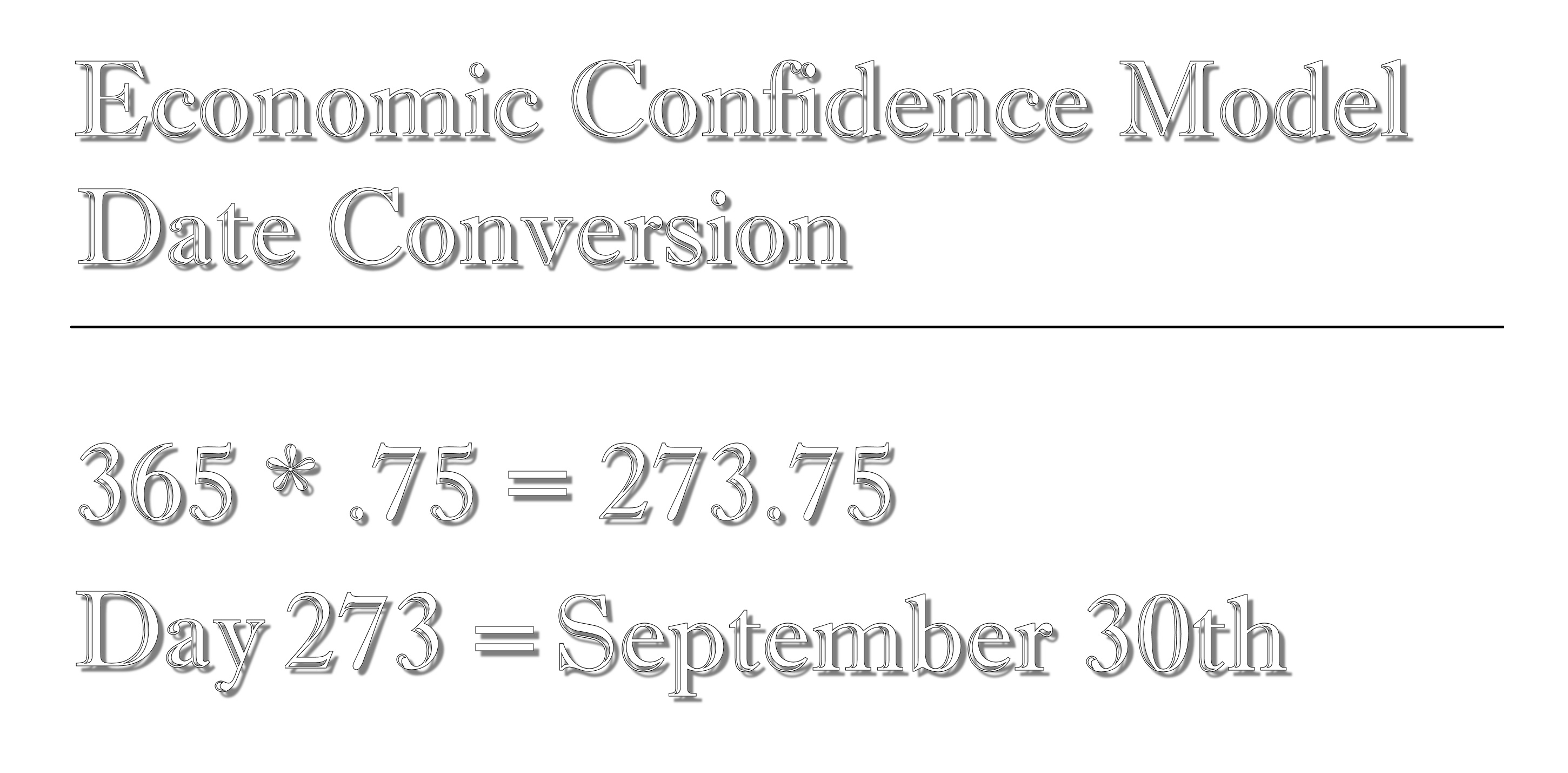1 ECM Date Conversion