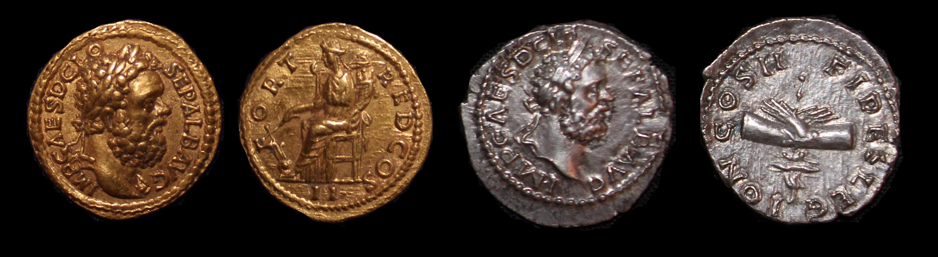 Claudius Albinus Augustus Denominations