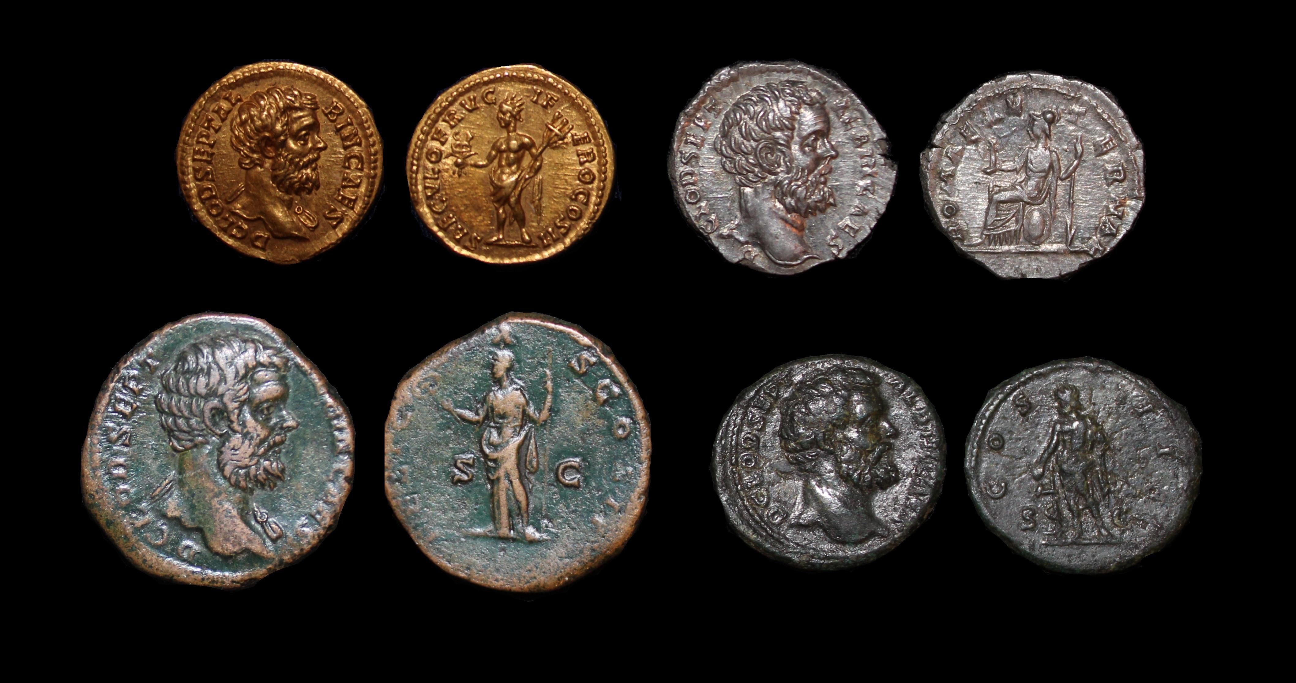 Claudius Albinus Caesar Denominations