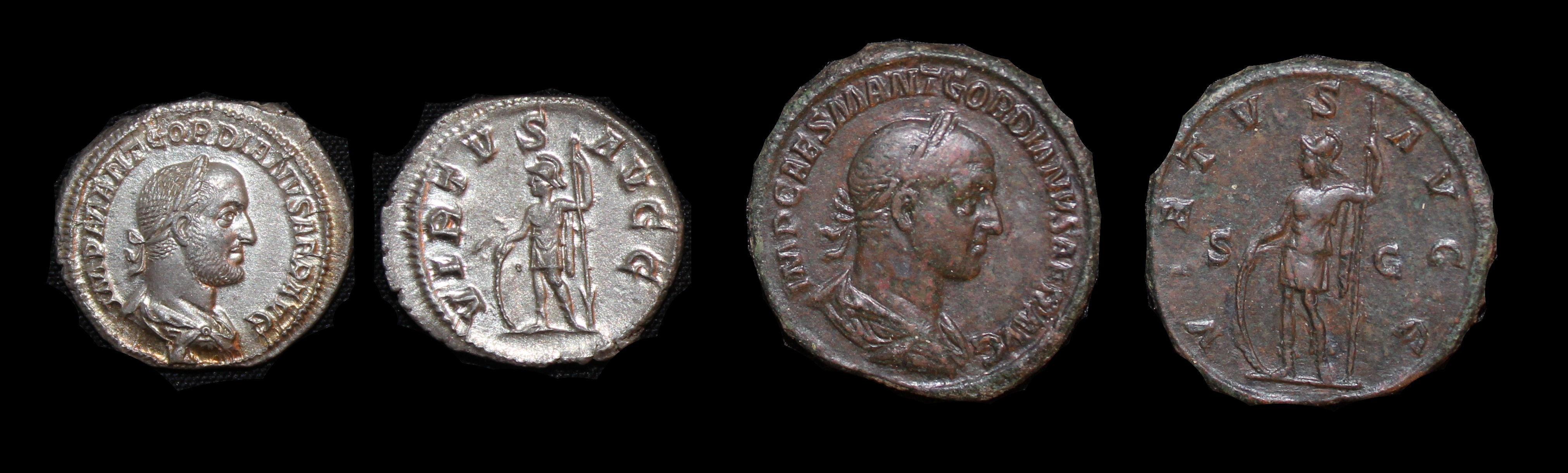 Gordian II Denominations