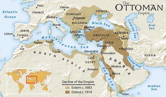 Ottoman-Map