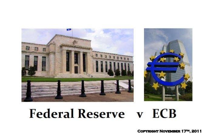 Fed v ECB