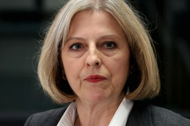 May Theresa Home Secretary