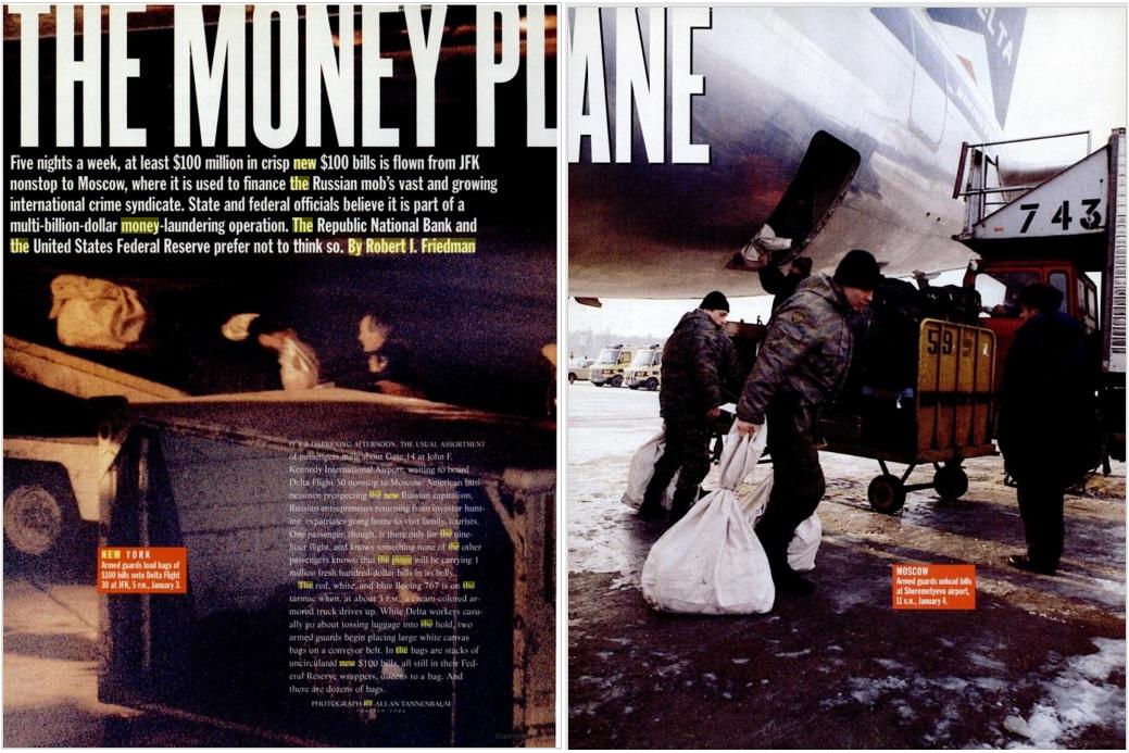 Money-Plane NY Magazine