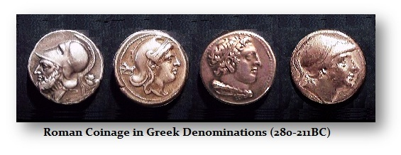 Roman-Greek Denominations