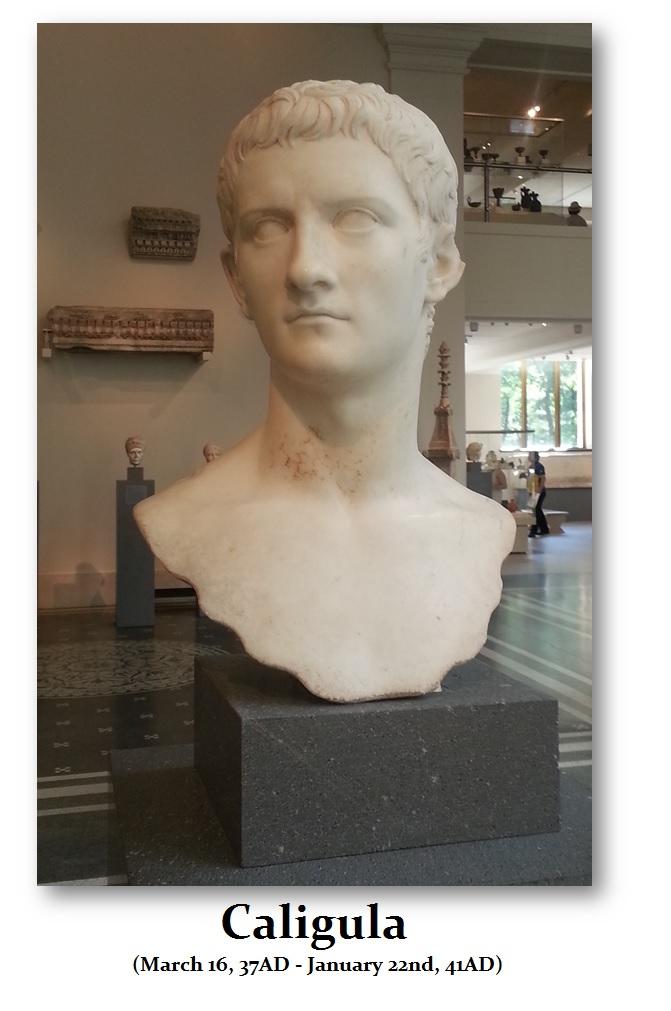 Caligula-Bust