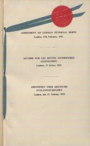 London Agreement 1953