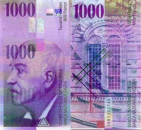 1000 Chf To Eur